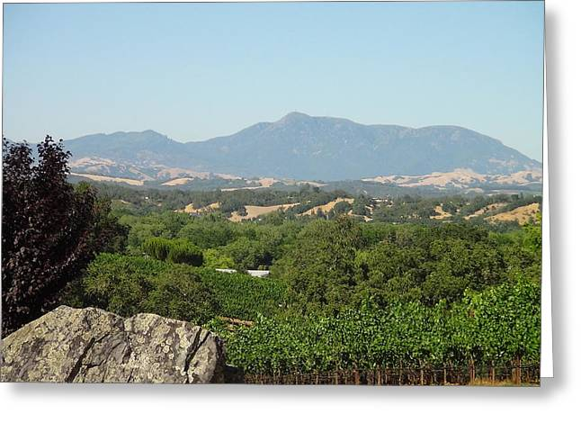 Greeting Card featuring the photograph Cali View by Shawn Marlow