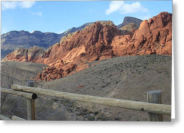 Greeting Card featuring the photograph Calico Hills Az by Kathleen Scanlan