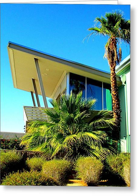 California Beach House Greeting Card