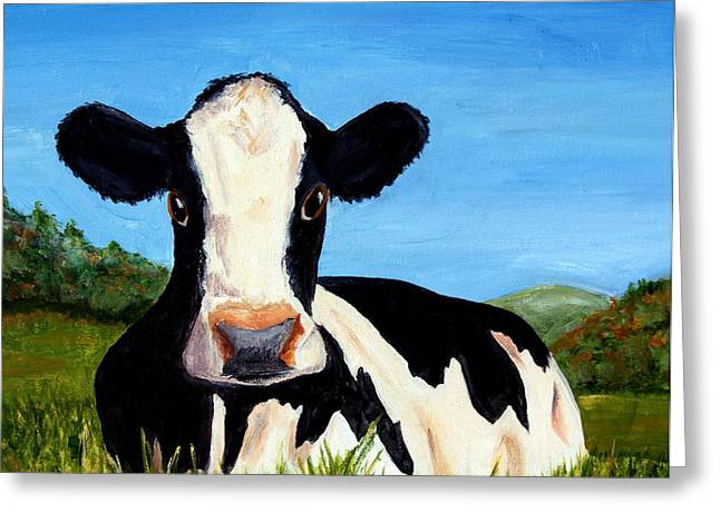 Greeting Card featuring the painting California Beauty by Terry Taylor