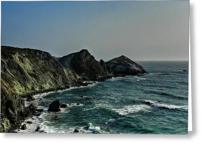 California - Big Sur 010 Greeting Card by Lance Vaughn