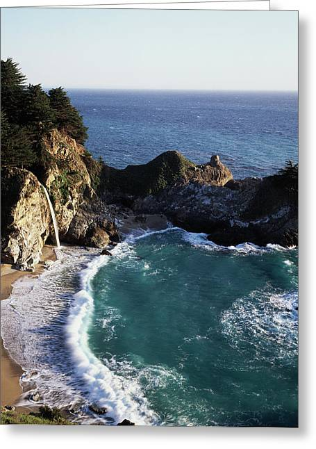 California, Big Sur Coast, Central Greeting Card by Christopher Talbot Frank