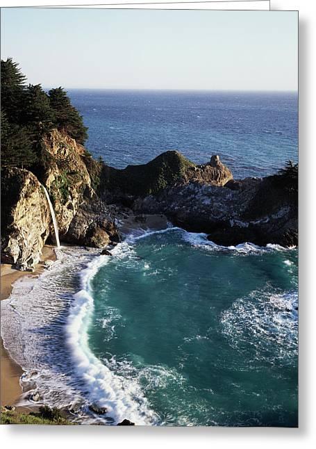 California, Big Sur Coast, Central Greeting Card