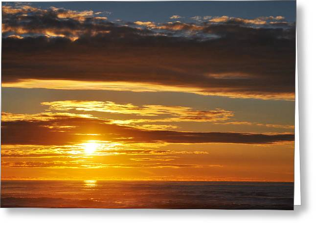 Greeting Card featuring the photograph California Central Coast Sunset by Kyle Hanson