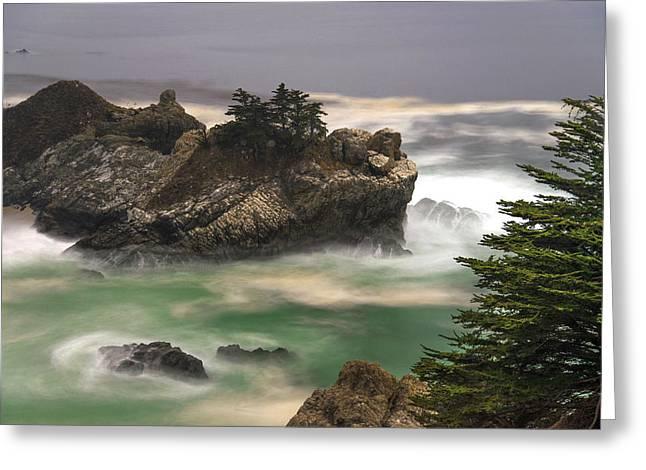California Coast Greeting Card by Dustin  LeFevre