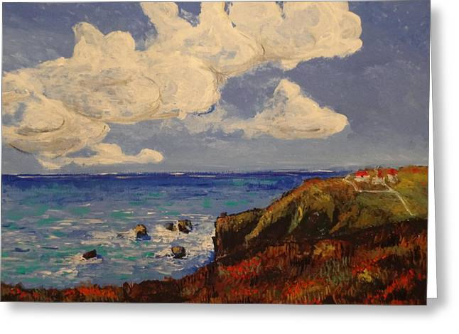 California Coast Greeting Card by Paul Benson