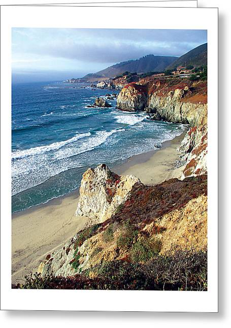 California Coastline Greeting Card