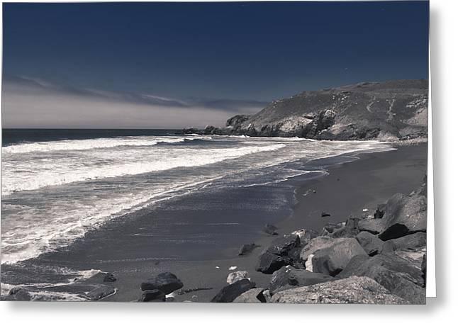 California Coastline Greeting Card
