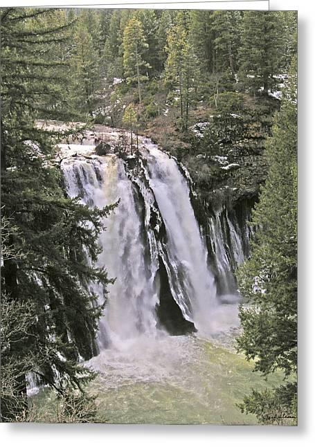 California Falls Greeting Card