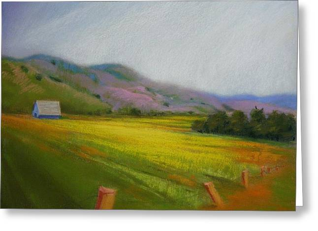 California Field In May  Greeting Card