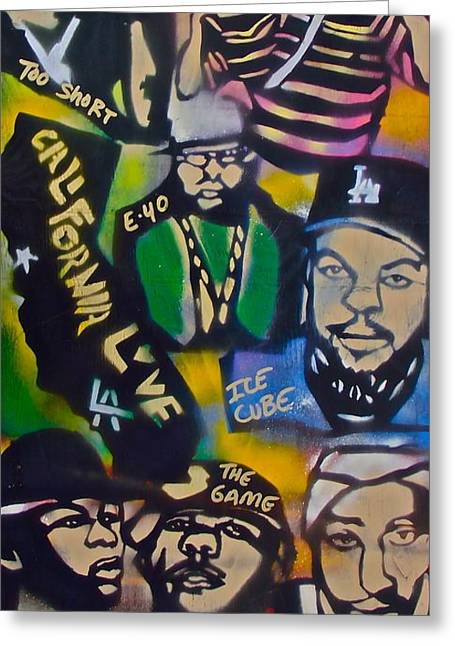 California Love Greeting Card by Tony B Conscious