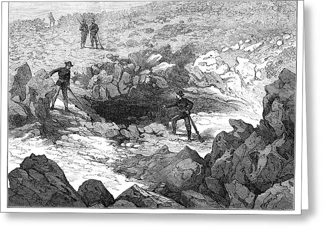 California Modoc War, 1873 Greeting Card by Granger