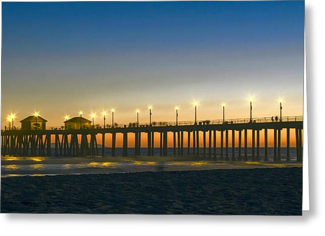 California Pacific Coast Pier Greeting Card