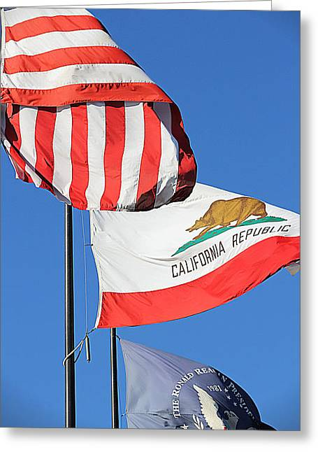 California Republic - Mike Hope Greeting Card