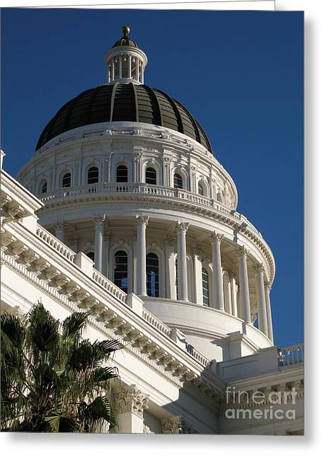 California State Capitol Dome Greeting Card