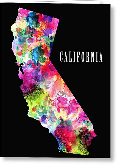 California State Greeting Card