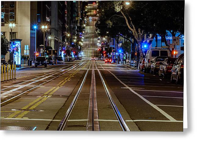 California Street Greeting Card