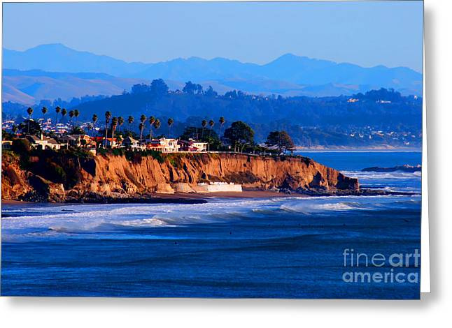 California Sunset - Pismo Beach Greeting Card by Tap On Photo