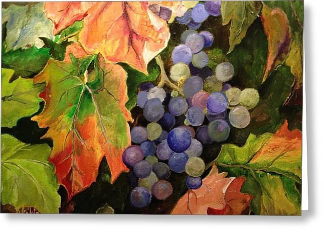 California Vineyards Greeting Card