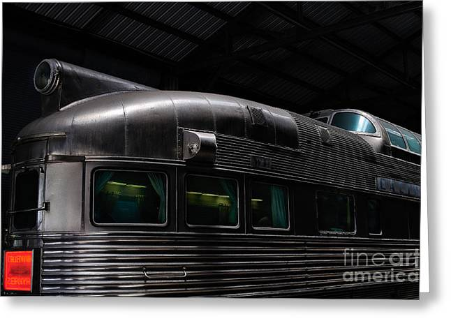 California Zephyr Greeting Card by Andres LaBrada