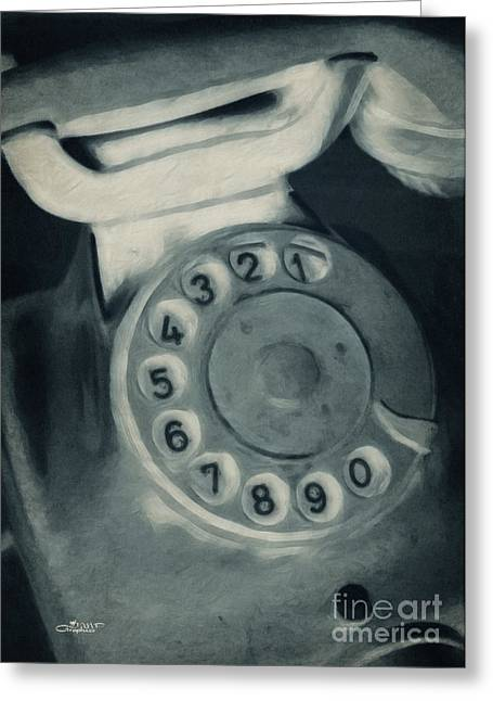 Call Me Yesterday Greeting Card