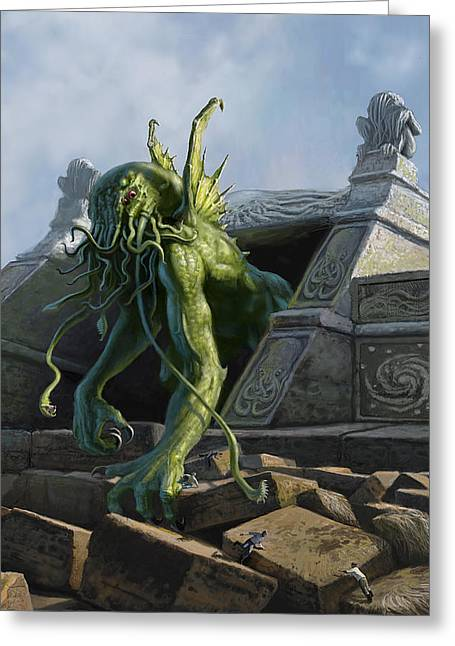 Call Of Cthulhu Greeting Card