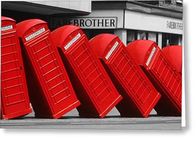 Call Waiting Greeting Card by John Topman