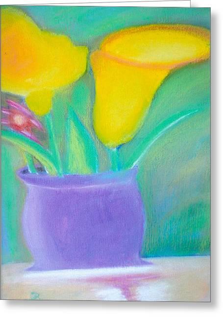 Calla Lilies Supreme Greeting Card