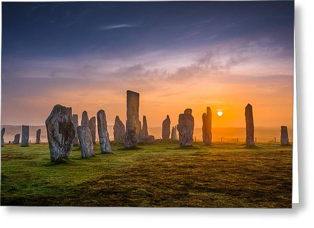 Callanish Dawn Greeting Card