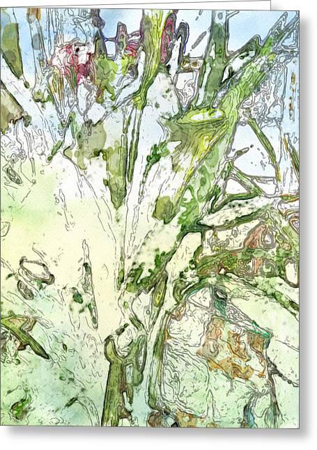 Callas Greeting Card by Jennifer Woodworth