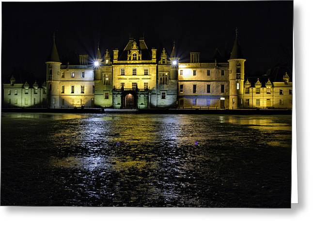 Callendar House Falkirk Greeting Card by Buster Brown