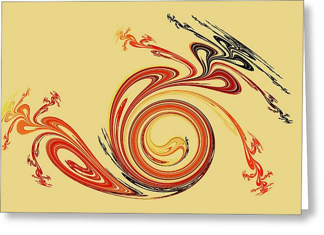 Calligraphy Greeting Card by Anastasiya Malakhova
