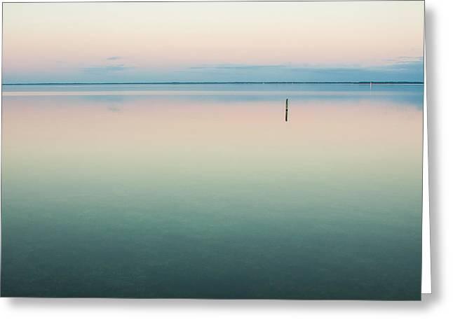Calm As Is Greeting Card by Jurgen Lorenzen