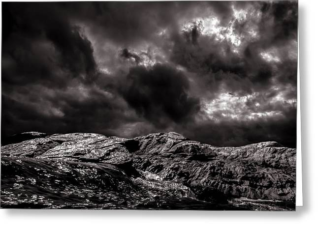 Calm Before The Storm Greeting Card by Bob Orsillo