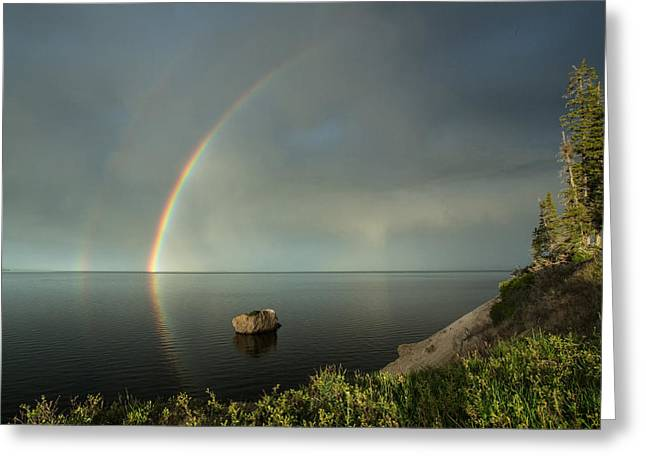 Calm Before The Storm Greeting Card by Sandy Sisti