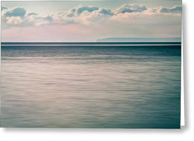 Calm Blue Ocean Greeting Card