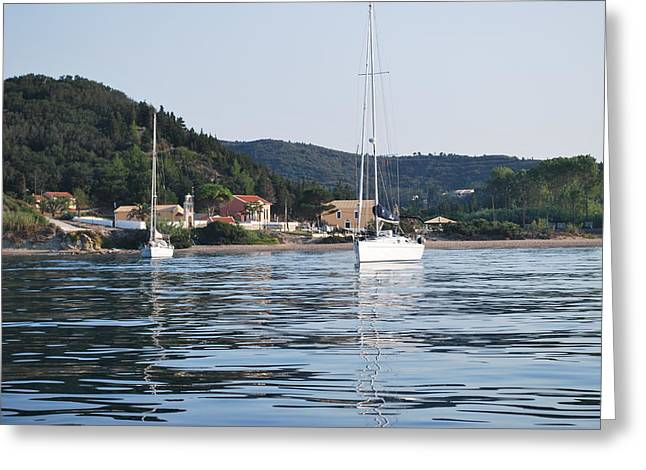 Calm Sea 2 Greeting Card by George Katechis