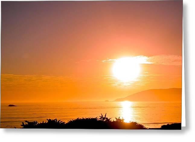 Greeting Card featuring the photograph Calm Sea by Tamara Bettencourt