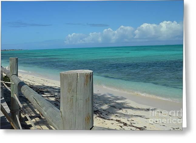 Greeting Card featuring the photograph Calming Waters by Judy Wolinsky