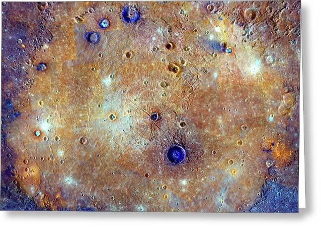 Caloris Basin Greeting Card
