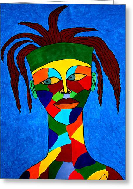 Calypso Man Greeting Card