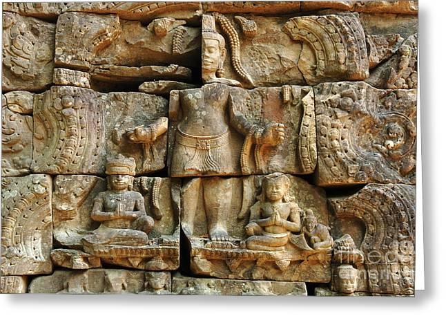 Cambodia Angkor Wat 3 Greeting Card