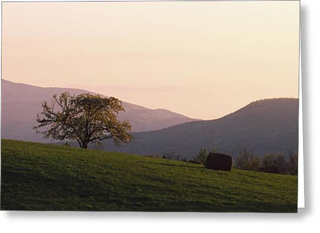 Camels Hump Waterbury Vt Greeting Card by Panoramic Images