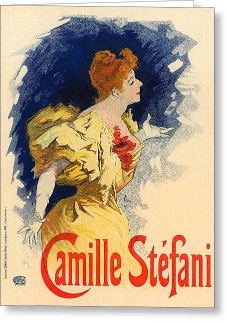 Camille Stefani Greeting Card by Gianfranco Weiss