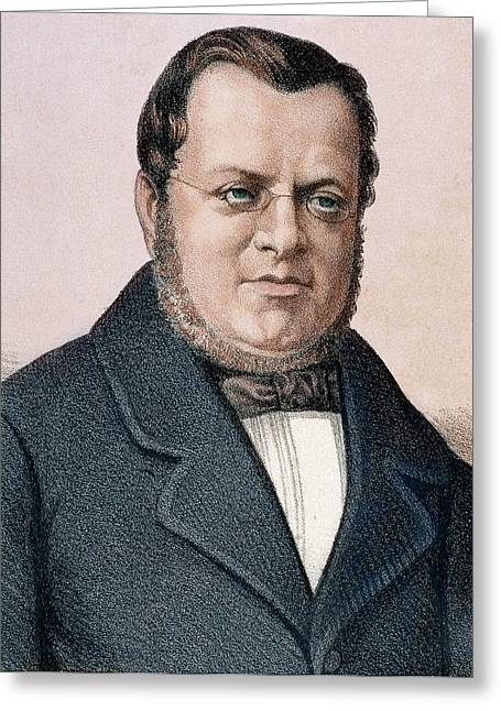 Camillo Benso, Count Of Cavour (turin Greeting Card by Prisma Archivo