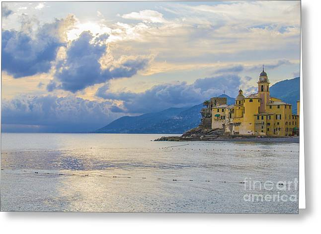 Camogli Church Greeting Card