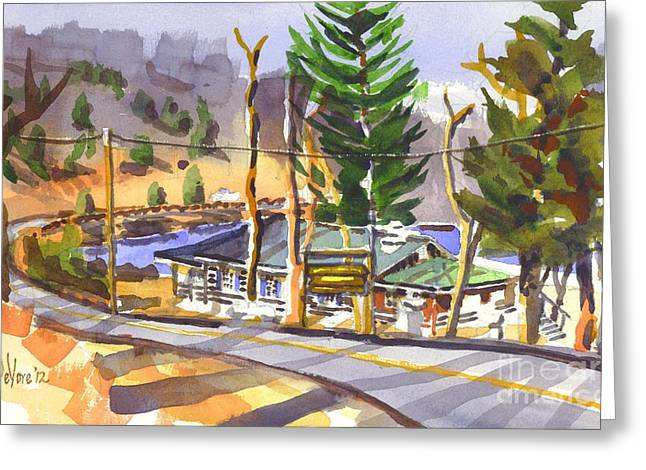 Camp Penuel At Lake Killarney Greeting Card by Kip DeVore