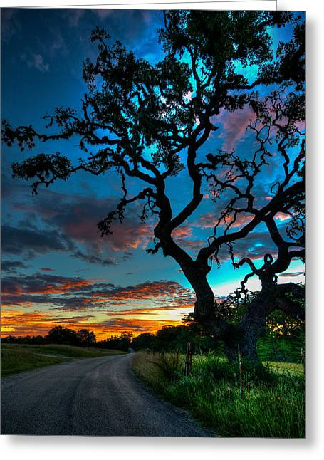 Camp Verde Sunrise Greeting Card