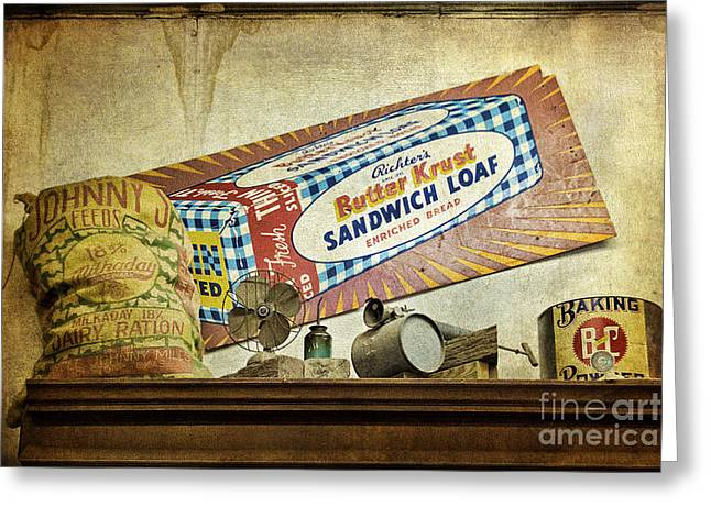 Camp Verde Texas General Store Greeting Card by Priscilla Burgers