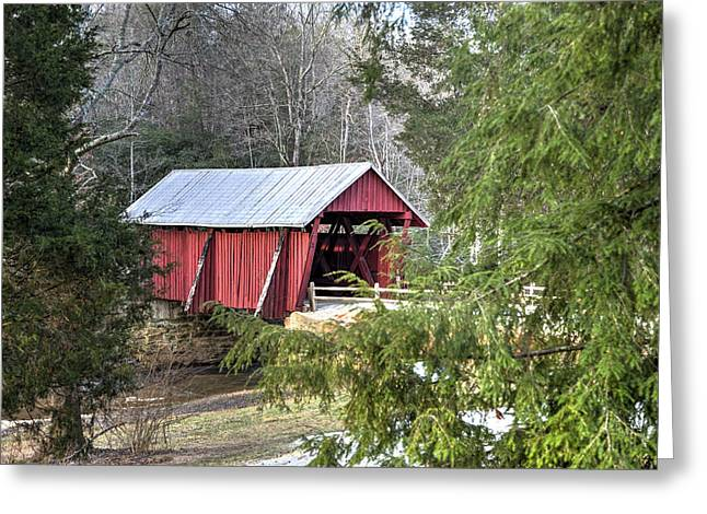 Campbell's Covered Bridge-1 Greeting Card